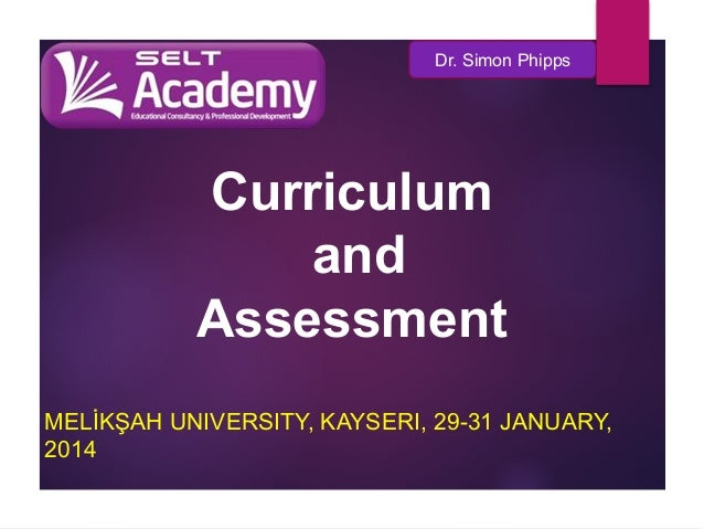 3.1 curriculum and assessment: plenary CTS-Academic