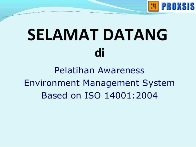 3.1.1.1 materi training awareness iso 14001
