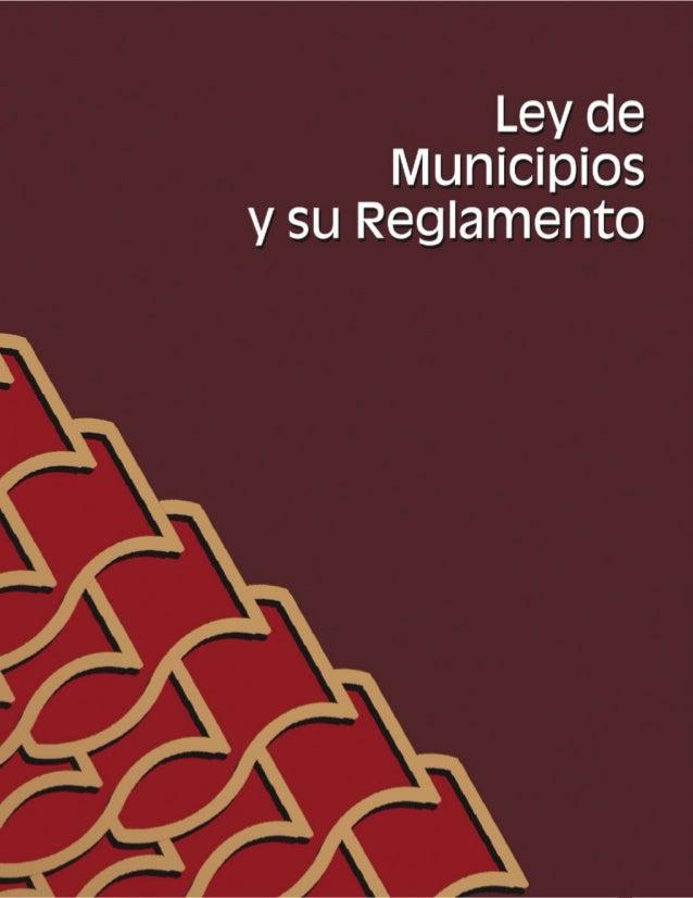 81 LeydeMunicipiosysuReglamento