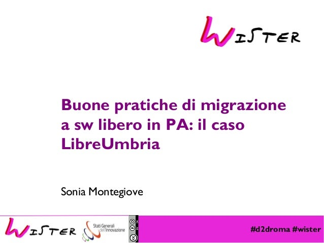 #d2droma #wister Foto di relax design, Flickr Buone pratiche di migrazione a sw libero in PA: il caso LibreUmbria Sonia Mo...