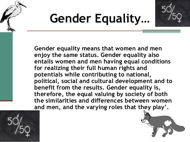 Teacherplus Gender equality in the classroom