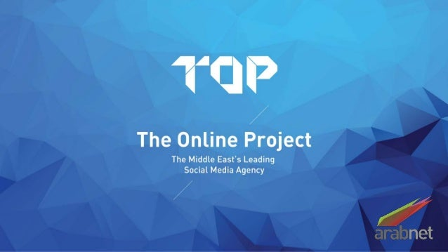 Social Youth In The Arab World by The Online Project - ArabNet Digital Summit 2014