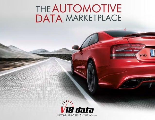 V10  THEAUTOMOTIVE  DATAMARKETPLACE  DRIVING YOUR DATA - V10Data.com