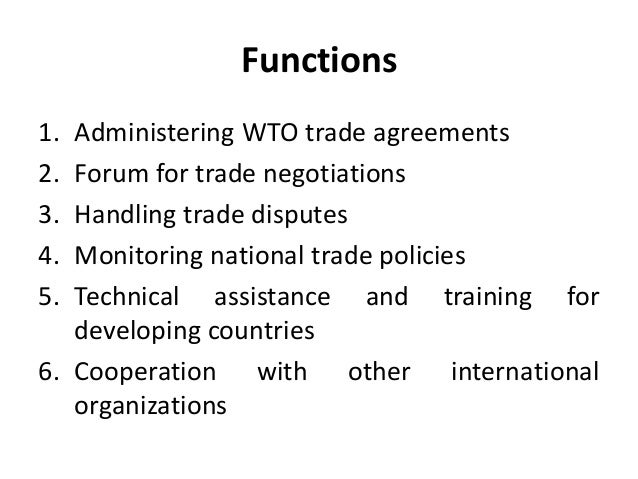 supporting organizations of international trade essay This essay talks about the politics of international trade policyit has important consequences on the citizens the effect can be not uniform at times this.