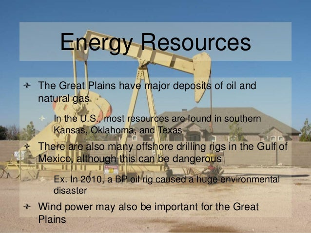 What Are The Natural Resources Found In The Great Plains