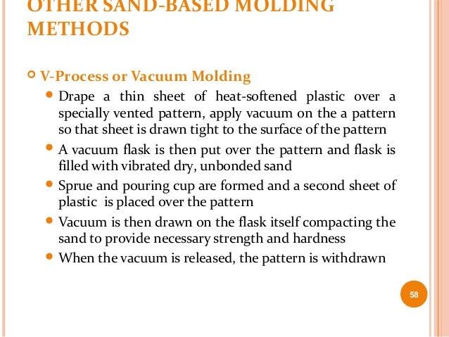Vacuum Mold Casting or Vacuum Molding  Drape