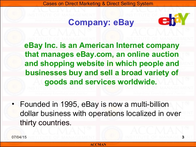 Selling on eBay Case Study | About com Money