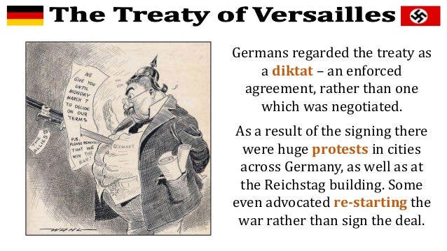 treaty of versailles placed responsibility for the terrible war squarely in germany On attack on poland: when the treaty of versailles placed responsibility for that terrible war squarely on germany.