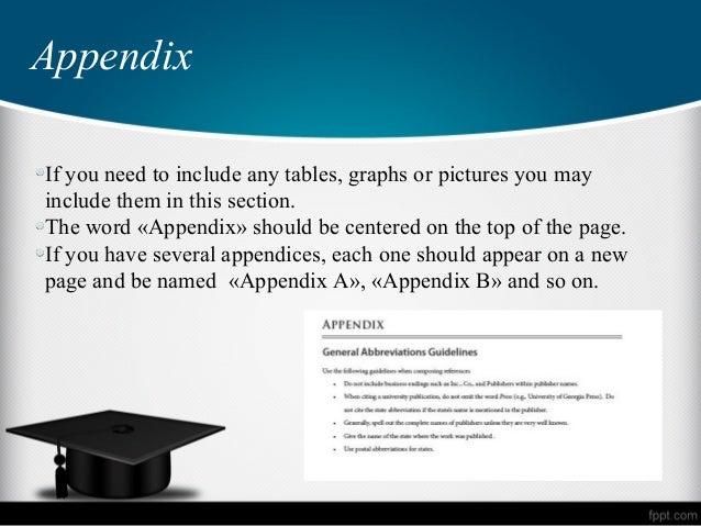 essay appendix images