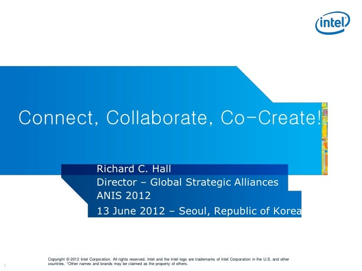 Connect, Collaborate, Co-Create!                                  Richard C. Hall                                  Directo...
