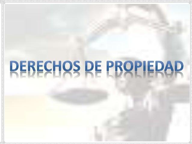 garantias propiedad: