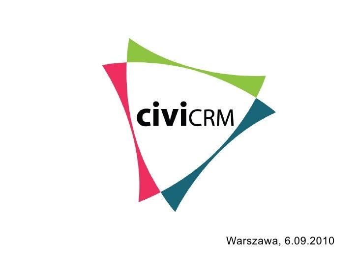 Michał Mach oraz Piotr Szotkowski - civiCRM