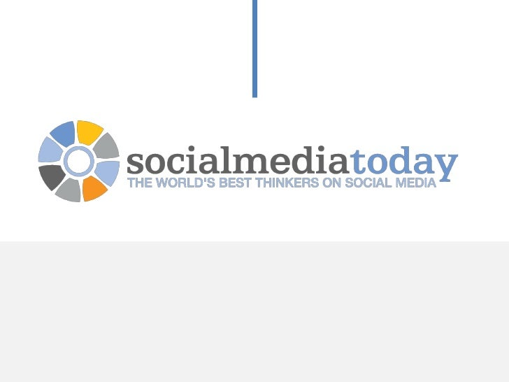 Social Media Today presents:Social Media as a Small Business ToolBrought to you by