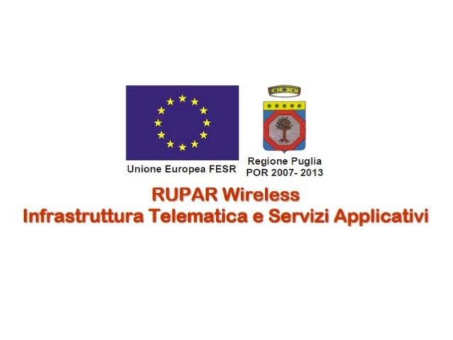 Progetto Rupar Wireless
