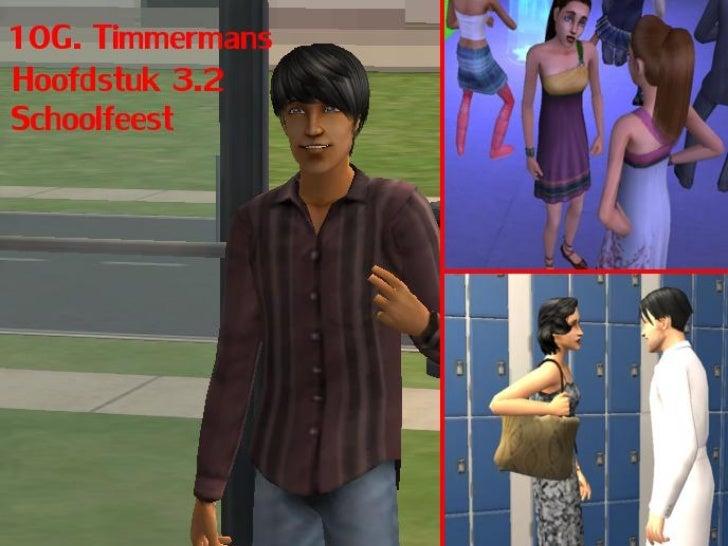 10G Timmermans: Hoofdstuk 3.2: Schoolfeest