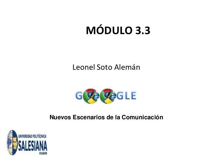 3.3 google