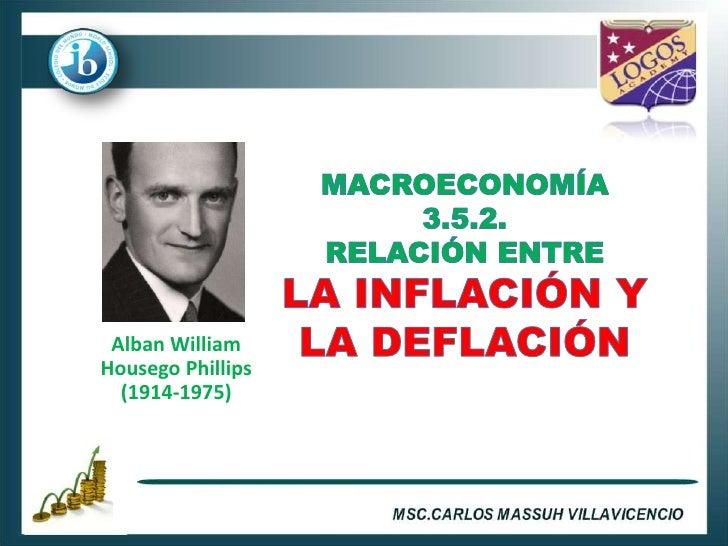 3.5.3. inflación y desempleo