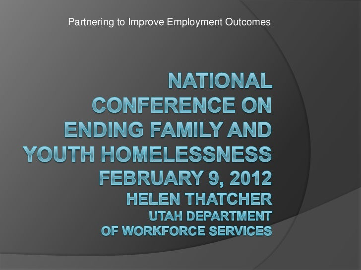 3.7 Partnering to Improve Employment Outcomes