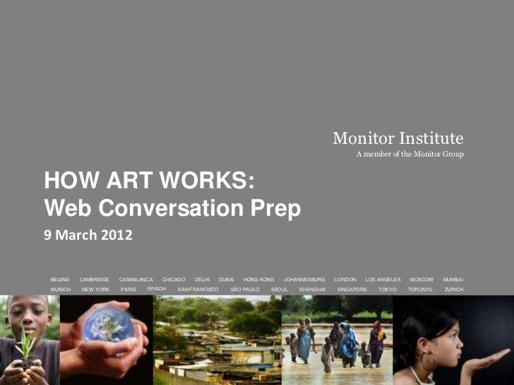HowArtWorks: Web Conversation Prep