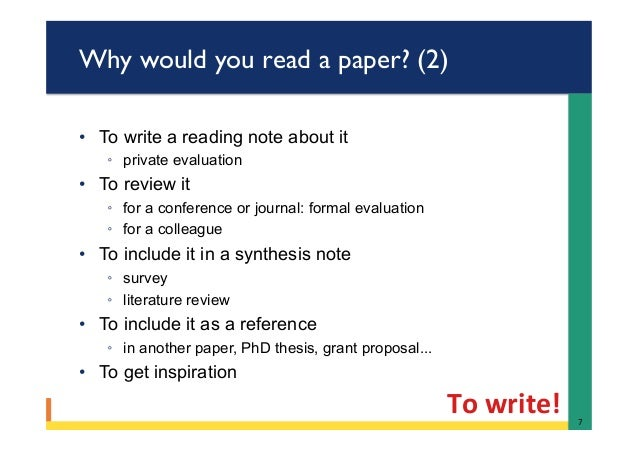 Twenty Steps to Writing a Research Article