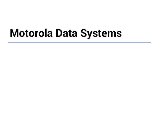 Big Data Analytics in Motorola on the Google Cloud Platform