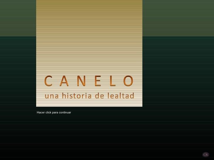 Canelo (por: carlitosrangel)