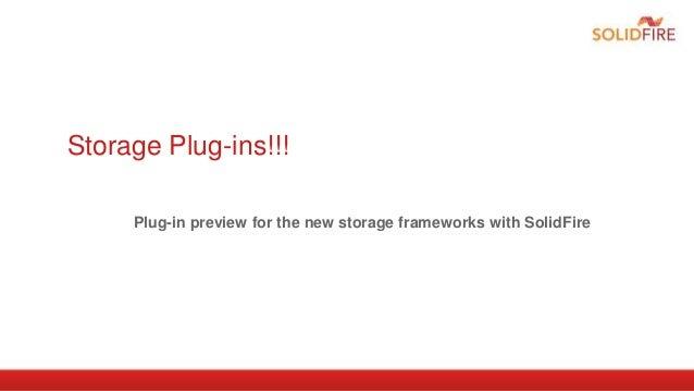 Storage Plug-ins