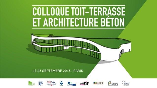 LE 23 SEPTEMBRE 2015 - PARIS