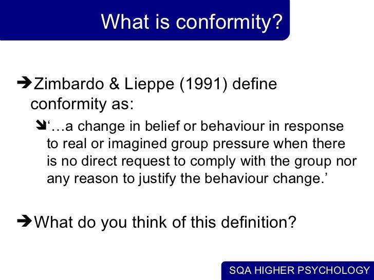 conformity vs rebellion essay format