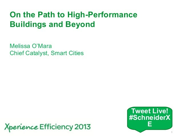 On the path to high-performance buildings and beyond