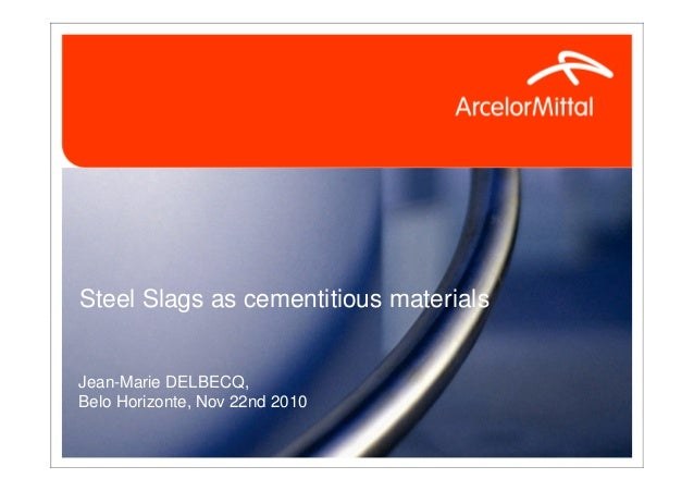 3.delbecq   belo horizonte steel slags and cement