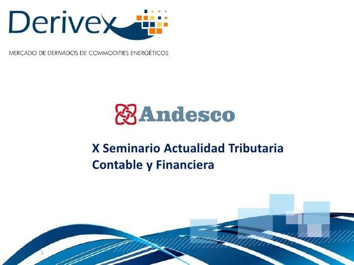 X Seminario Actualidad Tributaria    Contable y Financiera1