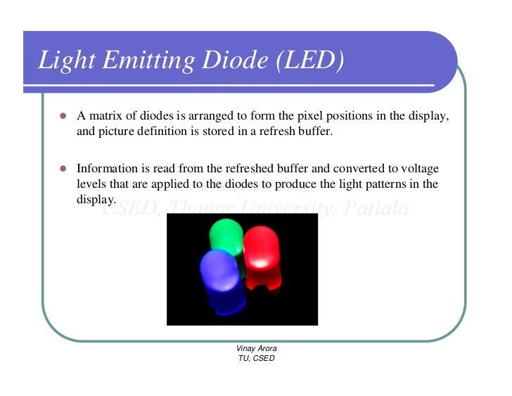 Led Definition Of Led By The Free Dictionary