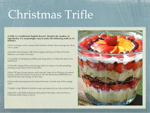 3 easy christmas desserts for List of traditional christmas desserts