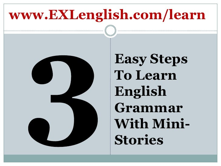 english grammar in steps: