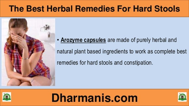Best Natural Remedies For Hard Stools And Constipation