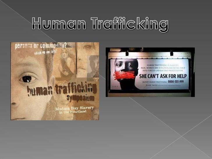 Group 3 - Human Trafficking