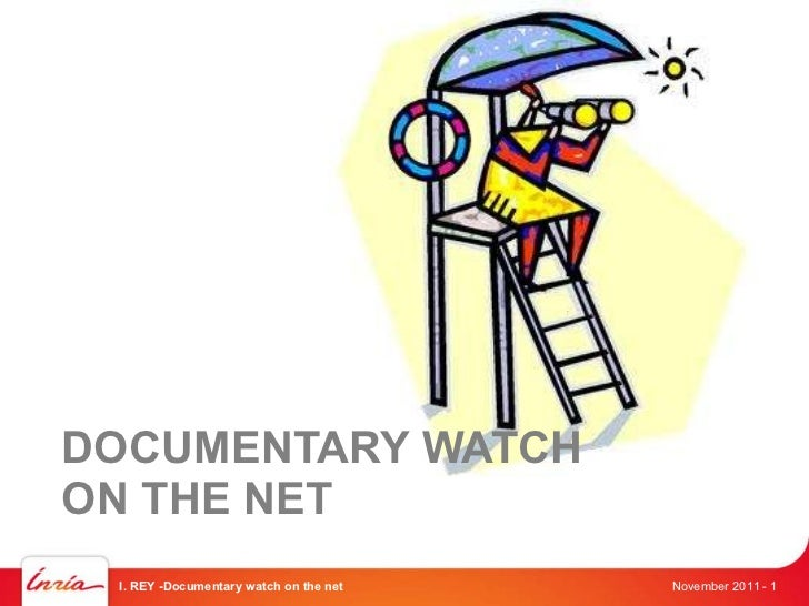 Inria : Documentary watch on the web (by Isabelle Rey)
