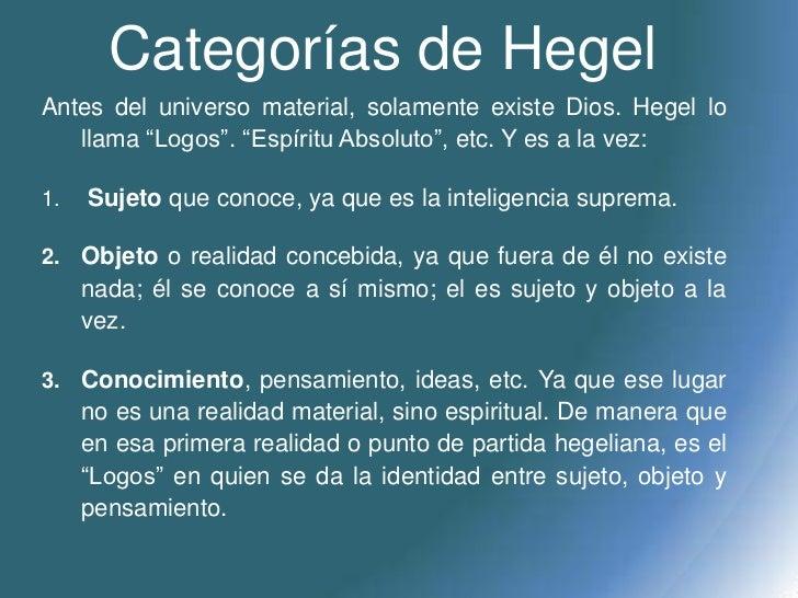 Ideias De Hegel ~ Hegel y el idealismo hegeliano