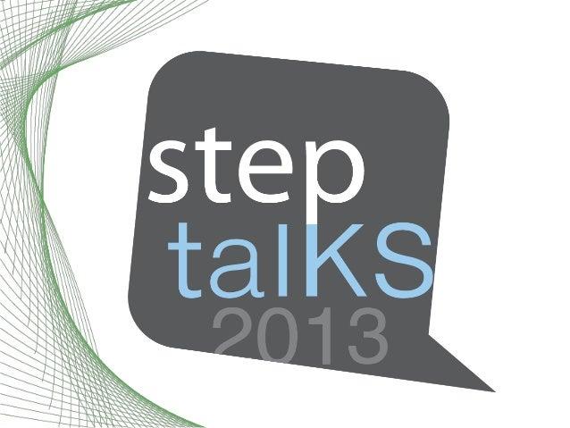[StepTalks2013] - CMMI: A Regional Perspective - Lisa Masciantonio