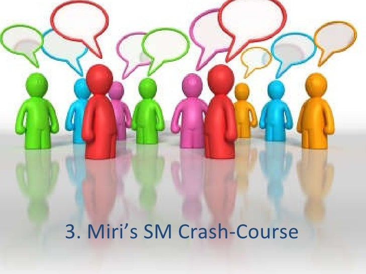 3. Miri's SM Crash-Course