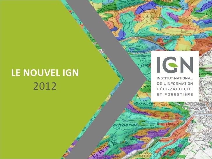 LE NOUVEL IGN    2012