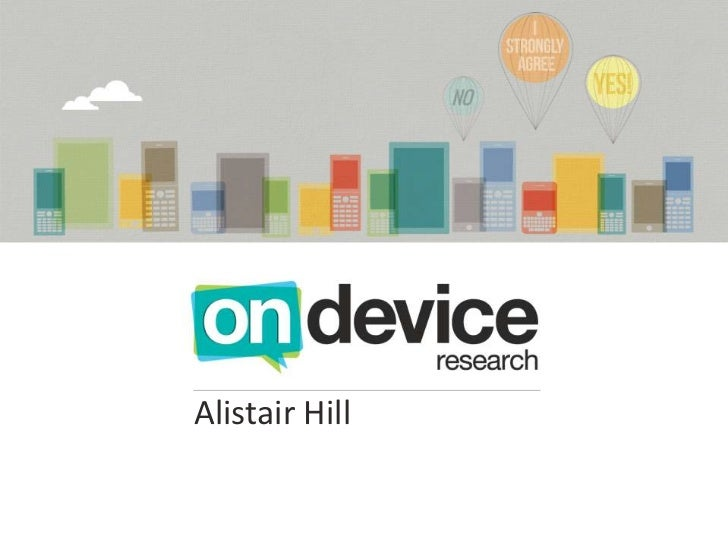 3. On device research
