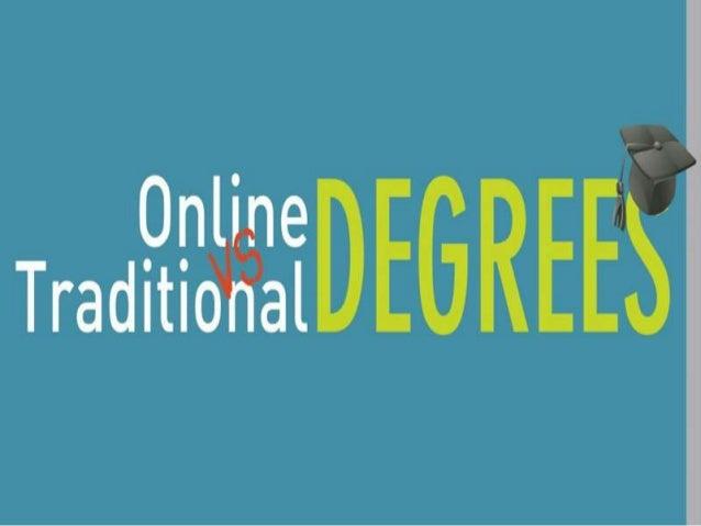 Online Education VS Traditional University