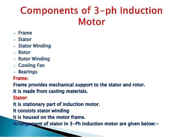 3 Ph Induction Motor Ppt