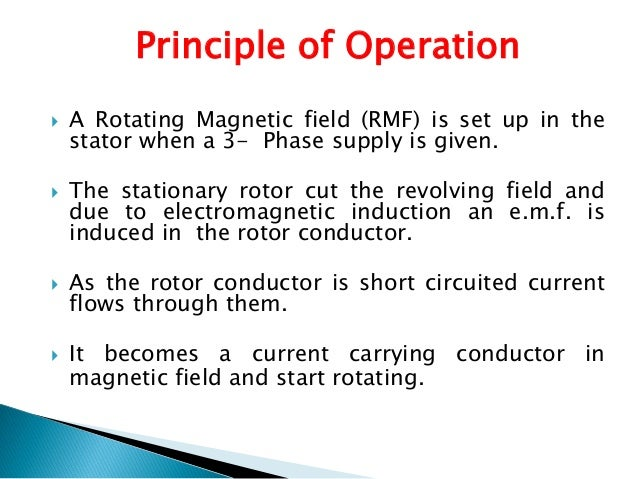 Image Gallery Induction Motor Working Principle
