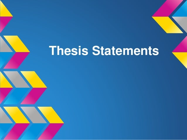 3 point parallel thesis statement