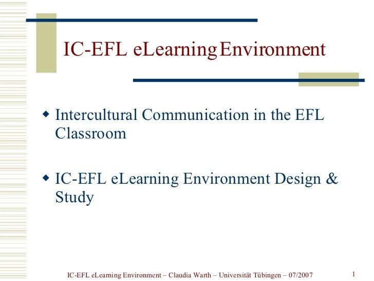 Presentation IC-FL elearning scenario