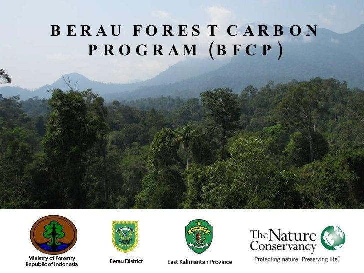 BERAU FOREST CARBON PROGRAM (BFCP)