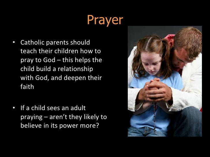 Describe how churches help with the upbringing of children?